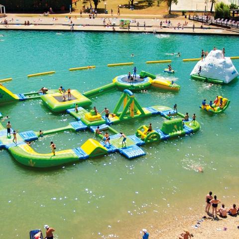 spanje waterpark op water